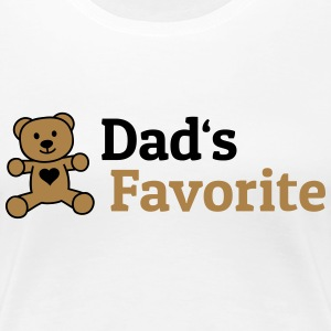Dads Favorite vaders favoriet T-shirts - Vrouwen Premium T-shirt