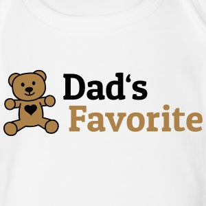 Dads Favorite T-Shirts - Baby Kurzarm-Body