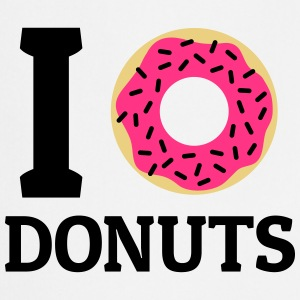 I love donuts  Aprons - Cooking Apron