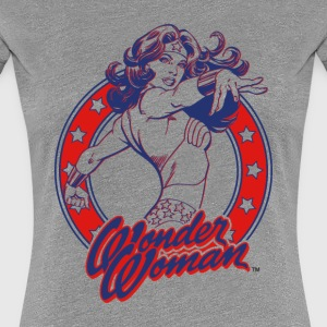 Wonder Woman Circle Frauen T-Shirt - Frauen Premium T-Shirt
