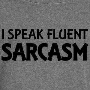 I speak fluent sarcasm Hoodies & Sweatshirts - Women's Boat Neck Long Sleeve Top