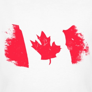 Canadian Maple Leaf T-shirts - Mannen Bio-T-shirt