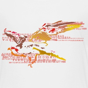eagleandnumbers T-shirts - Teenager premium T-shirt