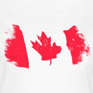 Canadian Maple Leaf T-skjorter - T-skjorte for kvinner