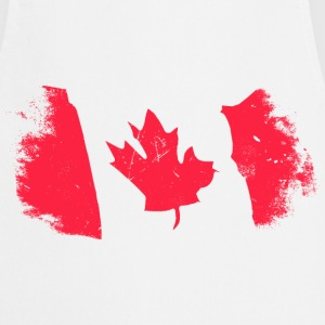 Canadian Maple Leaf Delantales - Delantal de cocina