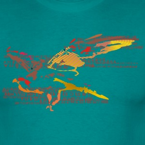 eagleandnumbers T-shirts - Mannen T-shirt