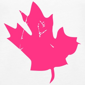 Canadian Maple Leaf Tops - Women's Premium Tank Top