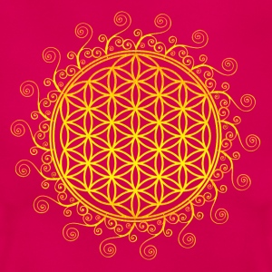 FLOWER OF LIFE, SPIRITUAL SYMBOL, SACRED GEOMETRY T-shirts - Vrouwen T-shirt