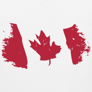 Canadian Maple Leaf Tank Tops - Men's Premium Tank Top