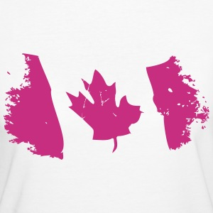 Canadian Maple Leaf T-shirts - Vrouwen Bio-T-shirt