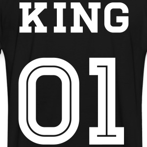 King Baseball Shirt - Männer Kontrast-T-Shirt