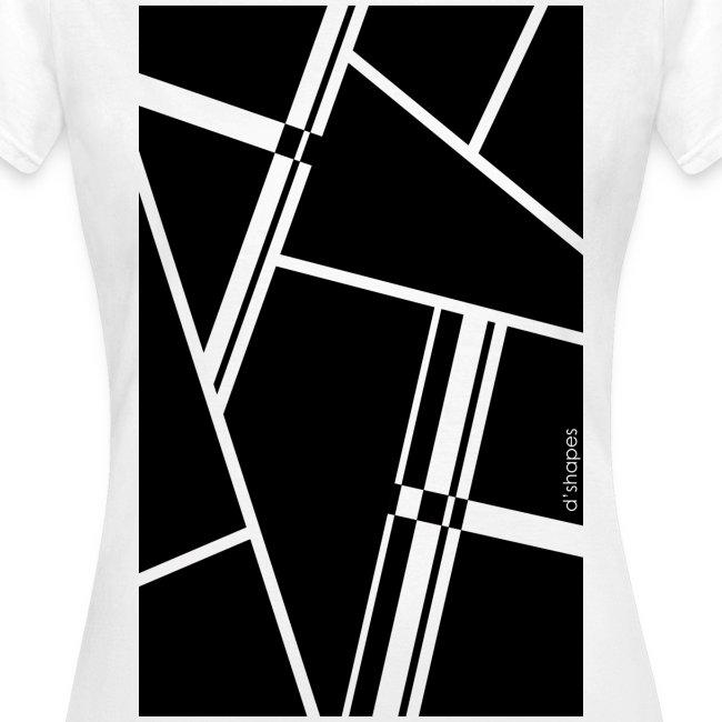 Blocks Black - Woman T-shirt