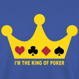 I'm the king poker Sweat-shirts - Sweat-shirt Homme