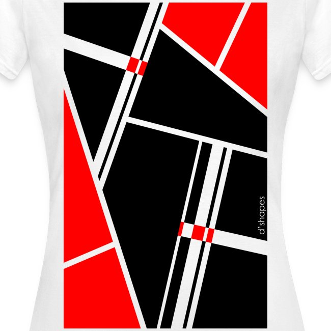 Blocks Red - Woman T-shirt