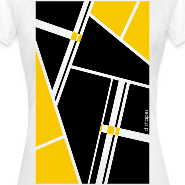 Blocks Yellow - Woman T-shirt