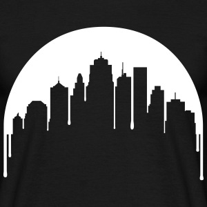 city moon T-Shirts - Men's T-Shirt