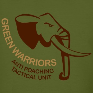 anti poaching green warriors - Men's Organic T-shirt