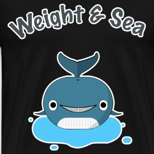 Weight and Sea - T-shirt Premium Homme
