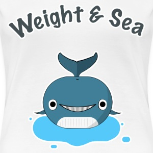 Weight and Sea - T-shirt Premium Femme