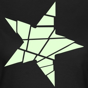 Women's Glow-In-The-Dark Shattered Star T-Shirt - Women's T-Shirt