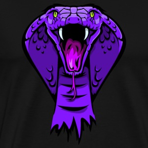 king cobra purple T-Shirts - Männer Premium T-Shirt