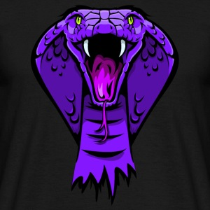 king cobra purple T-Shirts - Männer T-Shirt