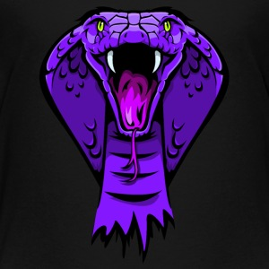 king cobra purple T-Shirts - Teenager Premium T-Shirt