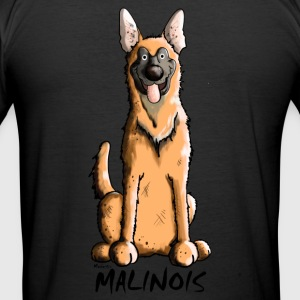 Lustiger Malinois T-Shirts - Männer Slim Fit T-Shirt