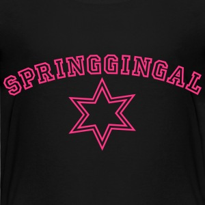 Springgingal Collegestyle T-Shirts - Kinder Premium T-Shirt