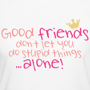 Good Friends Gute Freunde Freundschaft Friendship  - Frauen Bio-T-Shirt