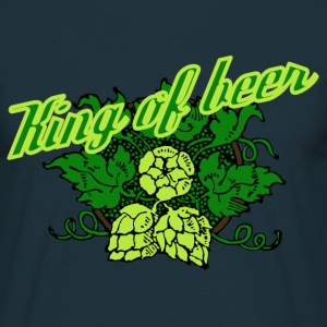 King of beer - Männer T-Shirt