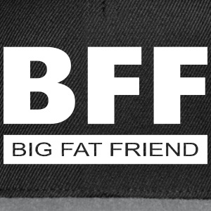 BFF - Big Fat Friend Caps & Hats - Snapback Cap