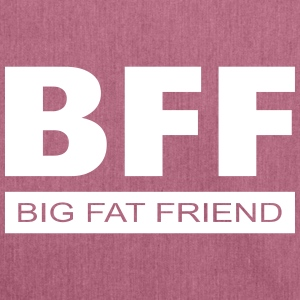 BFF - Big Fat Friend Bags & Backpacks - Shoulder Bag made from recycled material