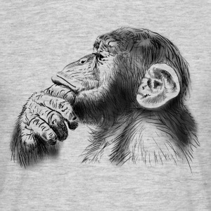 chimpanzee T-Shirts - Men's T-Shirt