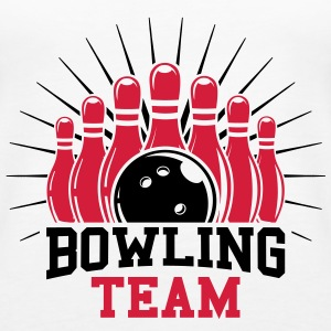 Bowling team Tops - Vrouwen Premium tank top
