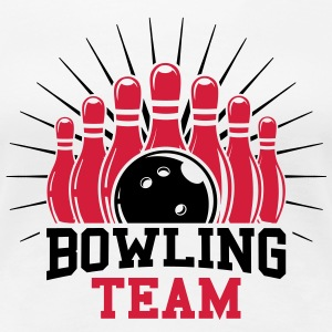 Bowling team T-Shirts - Frauen Premium T-Shirt