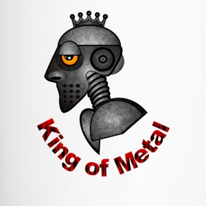 King auf Metal - Thermobecher