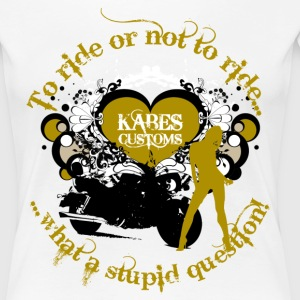 Kabes Stupid Question T-Shirt - Women's Premium T-Shirt