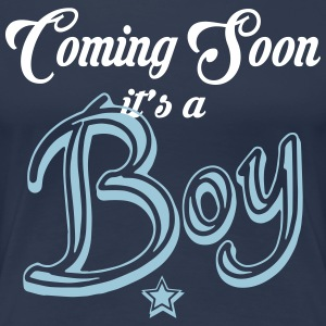 Coming Soon - It's A Boy T-Shirts - Women's Premium T-Shirt