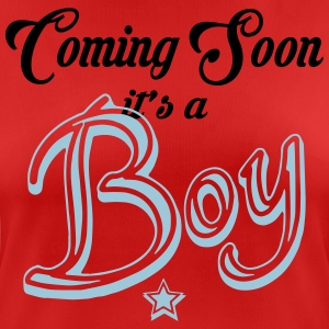Coming Soon - It's A Boy T-Shirts - Women's Breathable T-Shirt