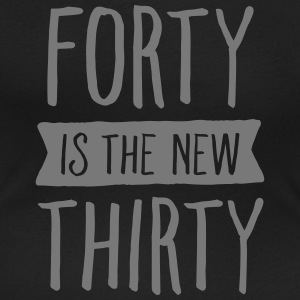 Forty Is The New Thirty Magliette - T-shirt scollata donna