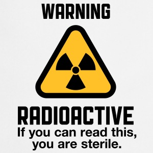 Attention: Radioactivity  Aprons - Cooking Apron