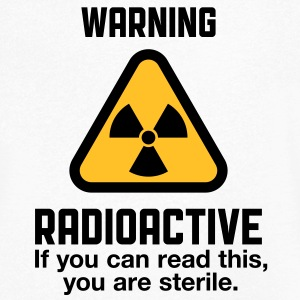 Attention: Radioactivité Tee shirts - T-shirt Homme col V