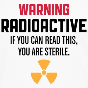 Caution: Radioactive Long sleeve shirts - Men's Premium Longsleeve Shirt