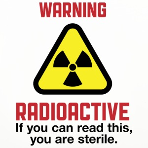 Caution: Radioactive Mugs & Drinkware - Coasters (set of 4)