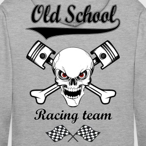 Old School Racing Team 02 Sweat-shirts - Sweat-shirt à capuche Premium pour hommes