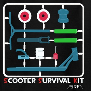 Scooter survival kit Shirts - Kinderen T-shirt
