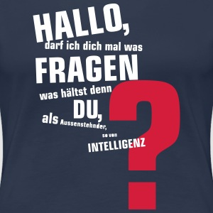 intelligenz T-Shirts - Frauen Premium T-Shirt