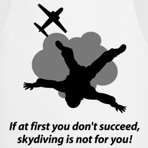 Unlucky should not go skydiving  Aprons - Cooking Apron