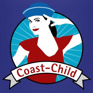 coast_child_04201505 T-Shirts - Kinder Premium T-Shirt